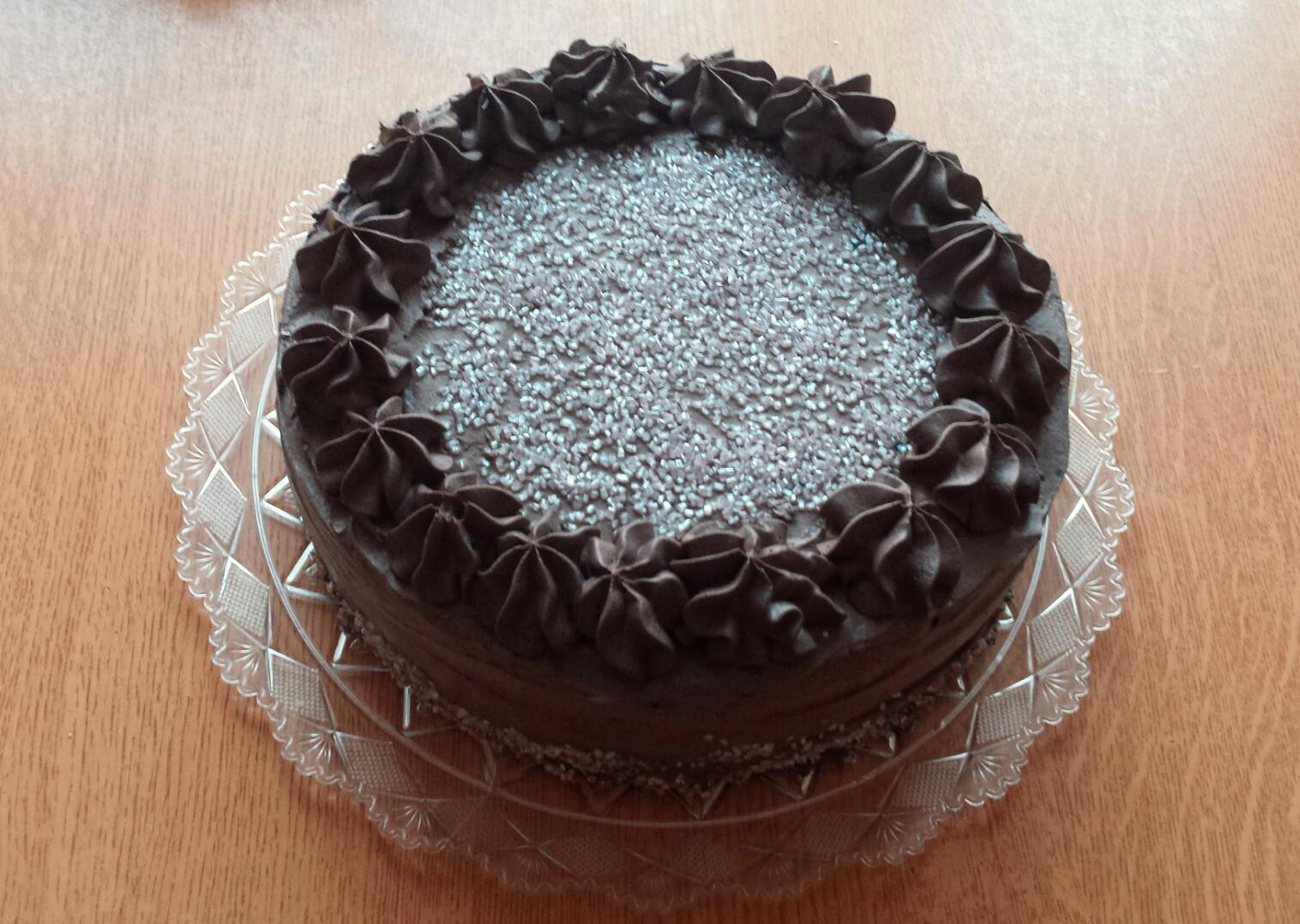 Urodzinowy tort misiowej mamy