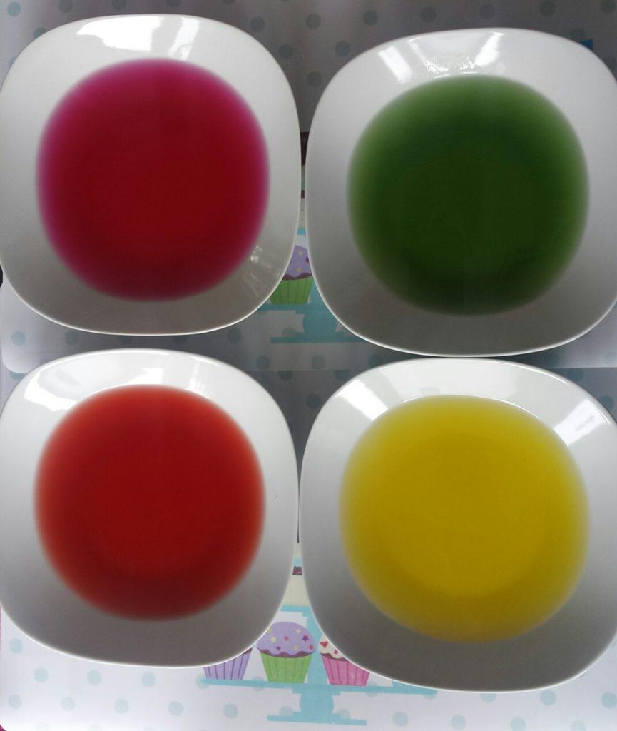 kolorowe galaretki