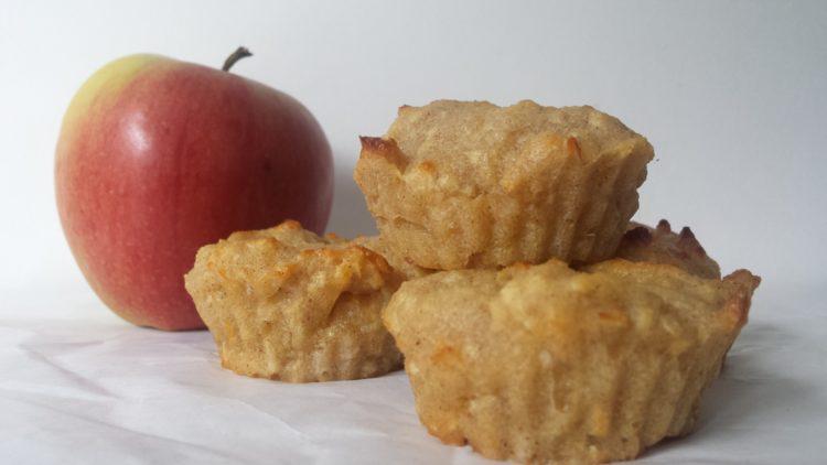 jabłkowe babeczki z kaszą manną