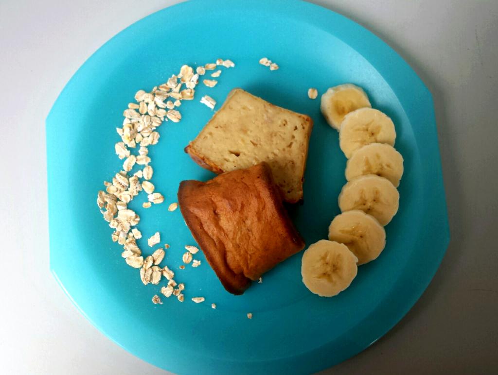 chlebek owsiano-bananowy