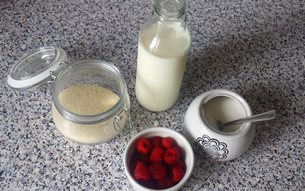 kaszka manna na mleku
