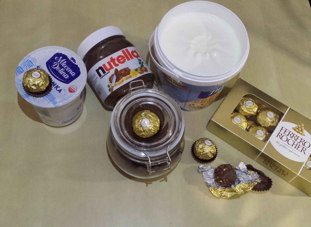 sernik Ferrero Rocher