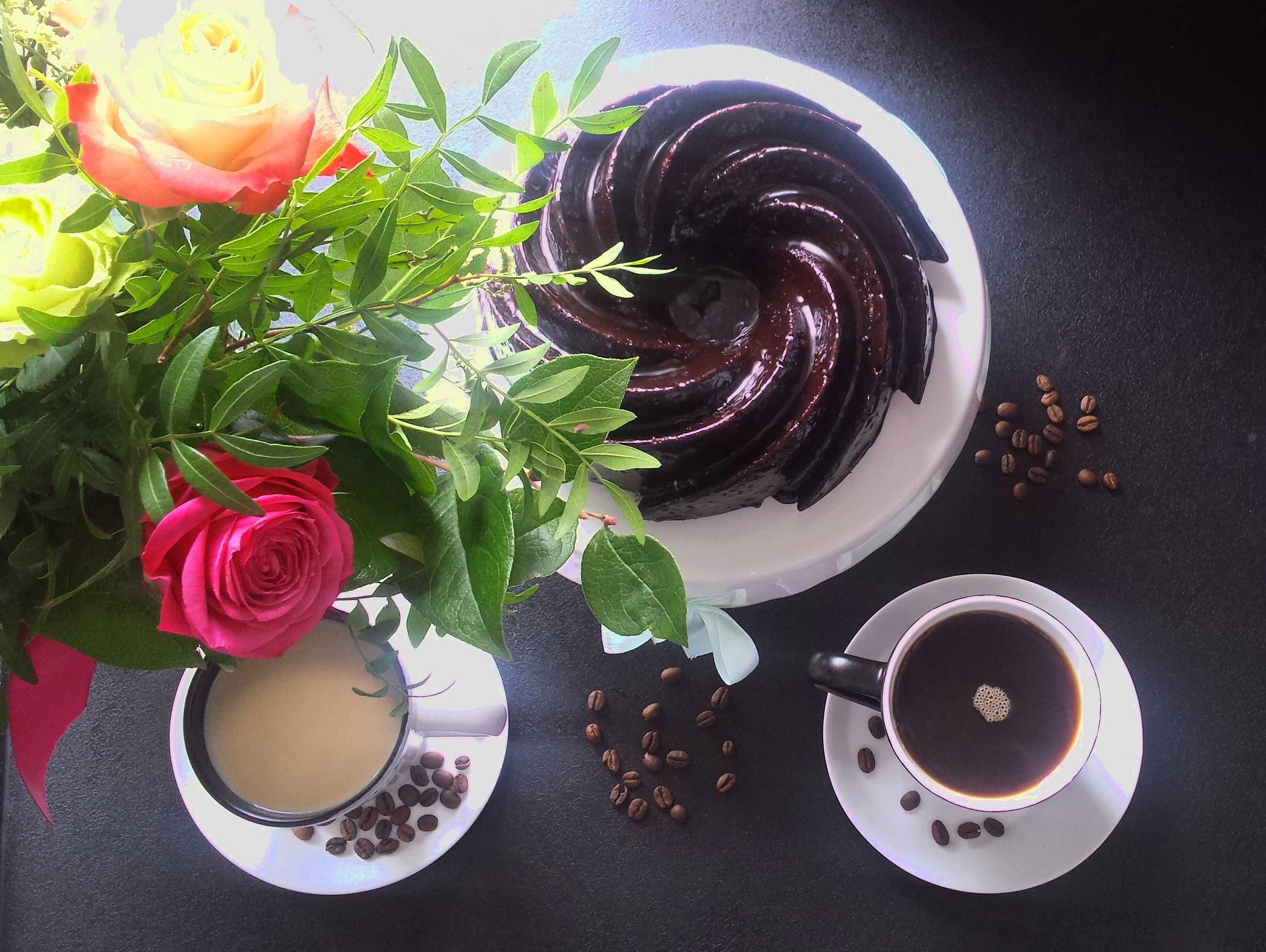 Babka mocno czekoladowa, czyli devil's food cake