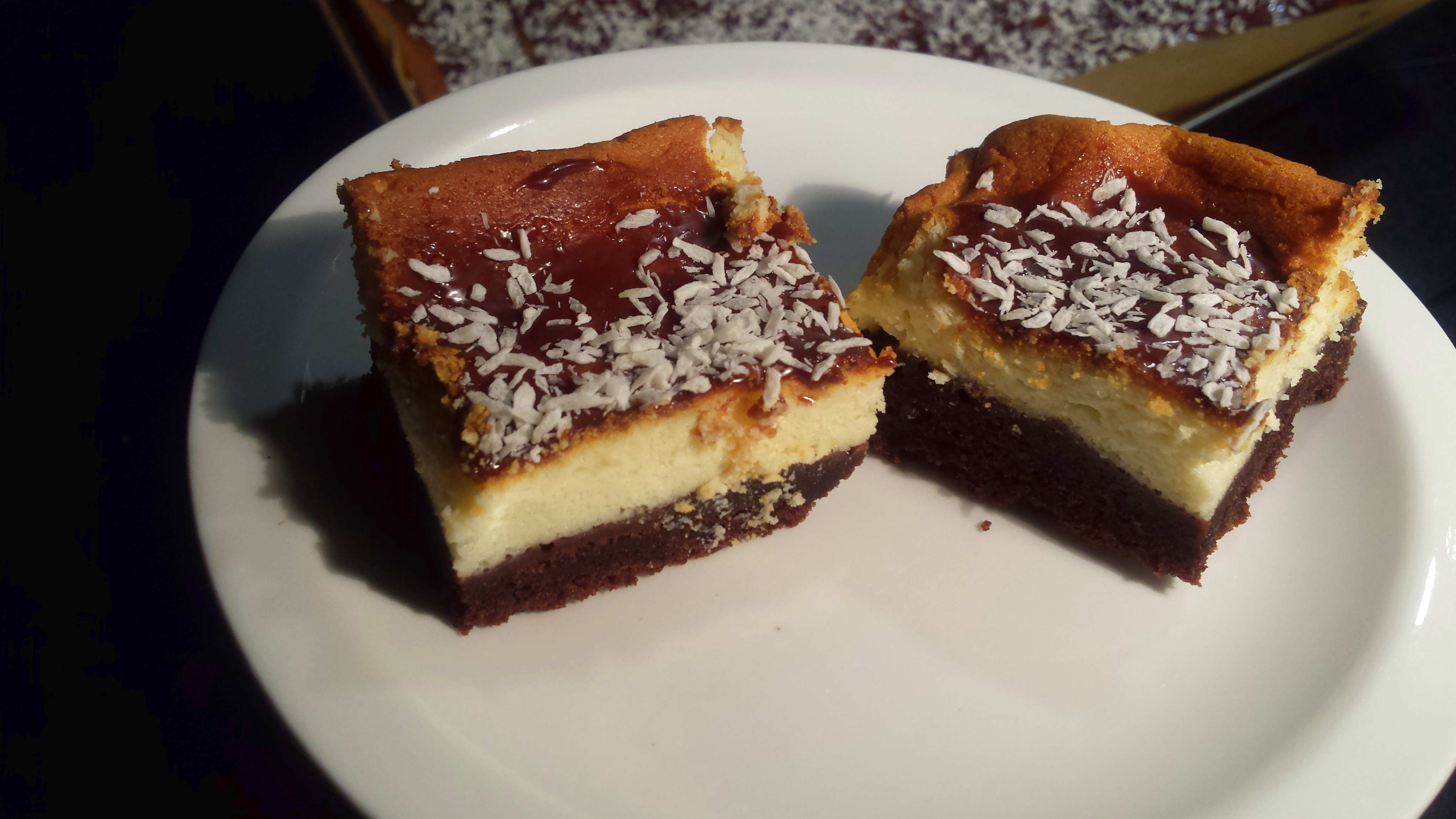Ciasto Izaura, czyli sernik na murzynku
