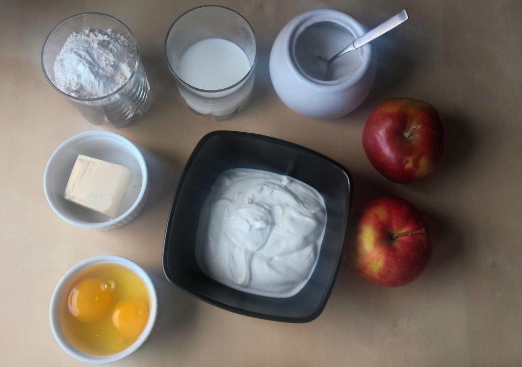 chrupiące racuchy z jabłkami