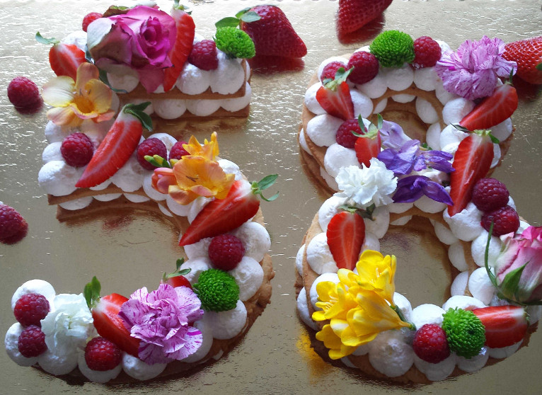 Number cake, czyli tort na kruchym spodzie