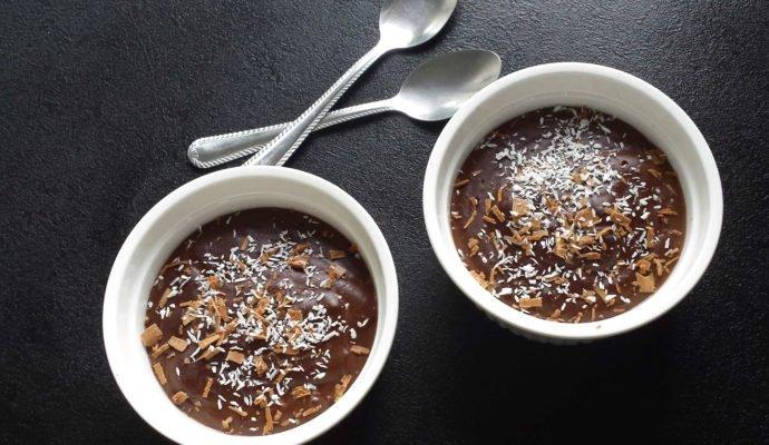 Fit budyń czekoladowy-bez cukru i glutenu