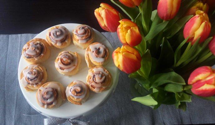 Bułeczki cynamonowe – ciannamon rolls